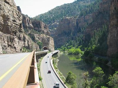 I-70 & Colorado River (Glenwood Canyon)