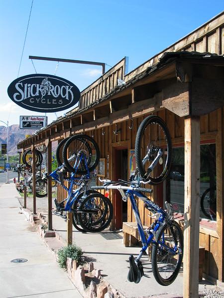 Slickrock Bicycle store