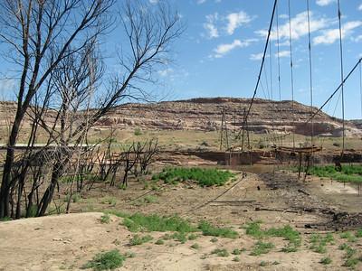 Dewey Bridge remains