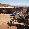 Along the White Rim Trtail
