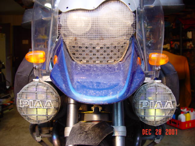 Airoflow Piaa 520 Oil cooler shield