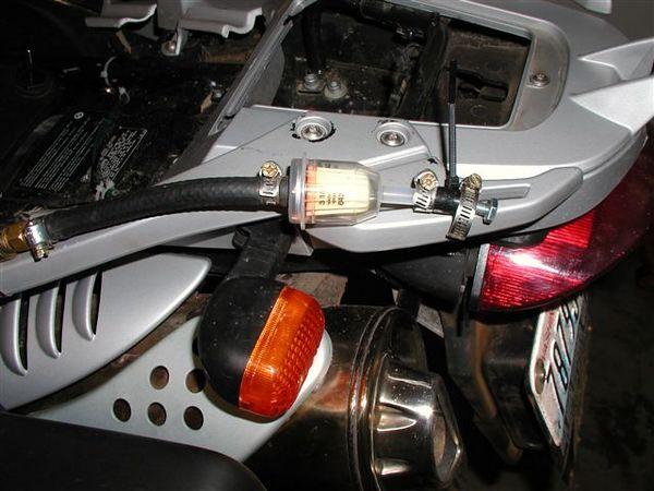 In Line fuel filter. (Courtesy of Tobie Stevens)