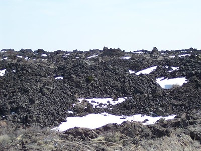 Craters of the Moon located in Idaho.