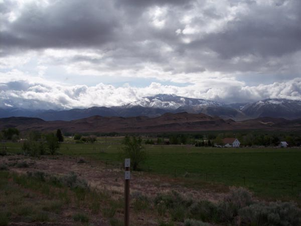 A day of storms and bad weather greeted us on our last day. Snow, rain, hail, and high winds places a demand on riders.