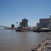 The Mississippi River and the motor vessel Natchez