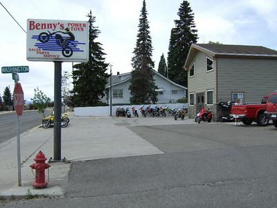 2007-07-02 Deer Lodge Bike Maintenance