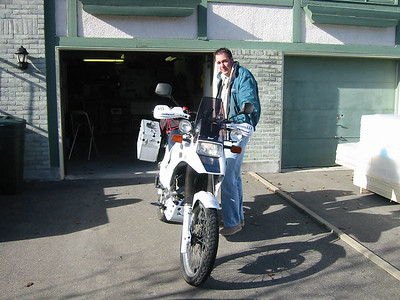 Thanks, Stephan. He bought himself a Triumph Tiger to replace his DR-BIG.