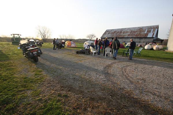 Moonshine '09 Campin' at the Hammond farm