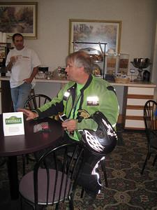"Terry Hammond, event organizer, community leader and ""relentless""...."