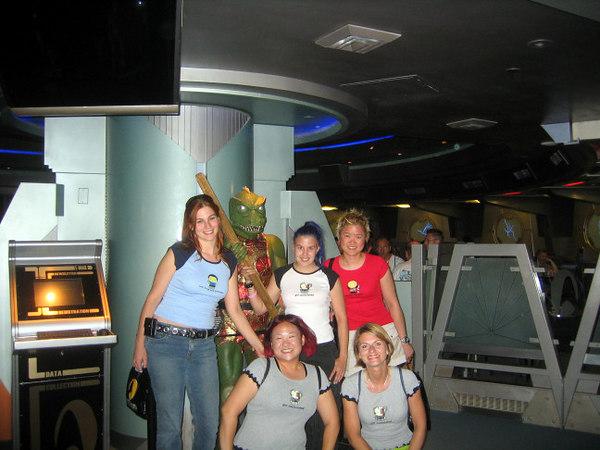 What a cute bunch at Quark's