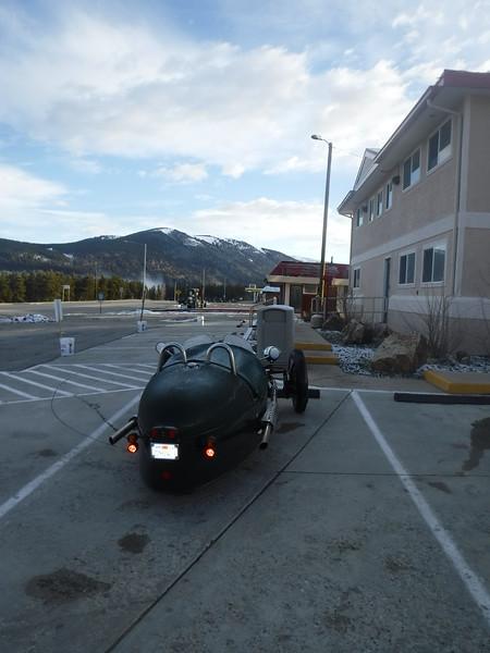 Frosty morning in Leadville, Colorado