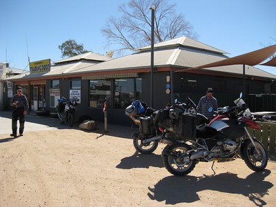 Innaminka General Store. Bloody good hamburgers here.
