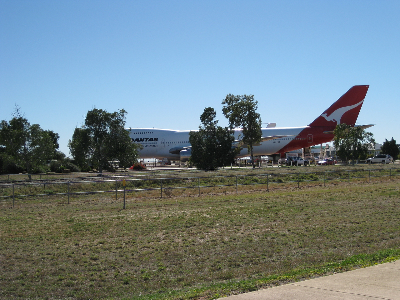 Longreach and the birthplace of Qantas.
