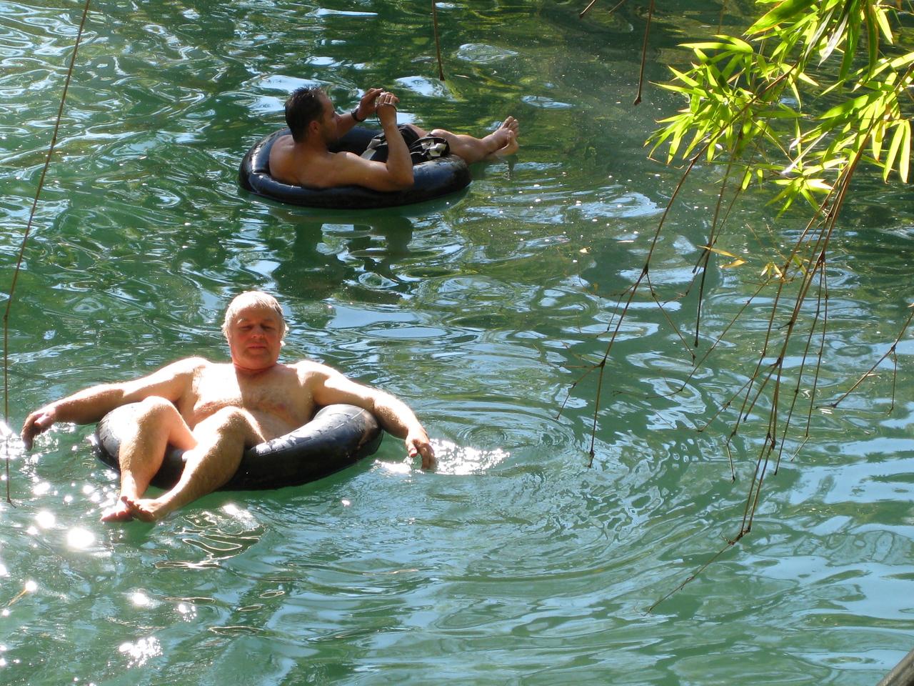 David swimming at Adels Grove.
