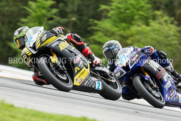 MotoAmerica Supersport Race 1 2015