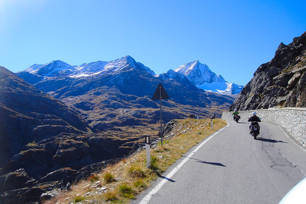 Riding the Alps - It doesn't get any better than this - Passo di Gavia, Italy