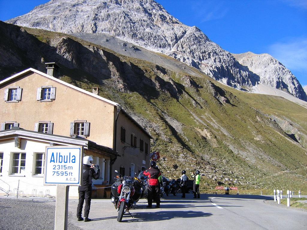 The Abula Pass, a classic Swiss beauty - Switzerland