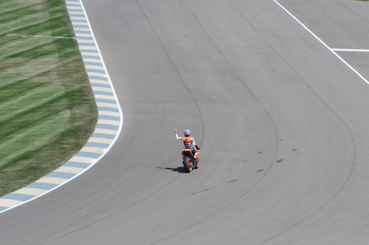 Another win by Casey Stoner on his way to his second world championship