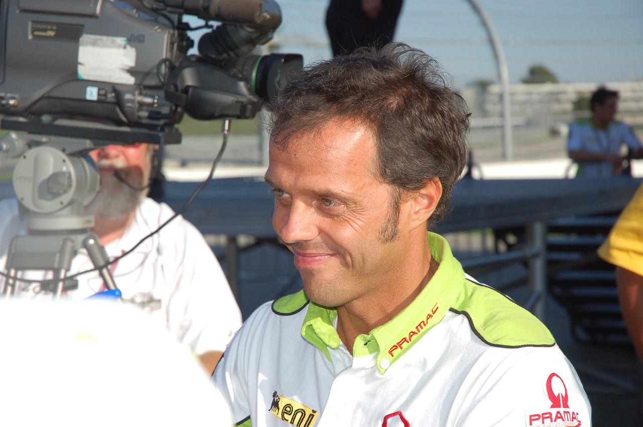 Loris Caporossi one week before announcing his retirement