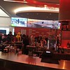 The bar inside the grand stands at COTA