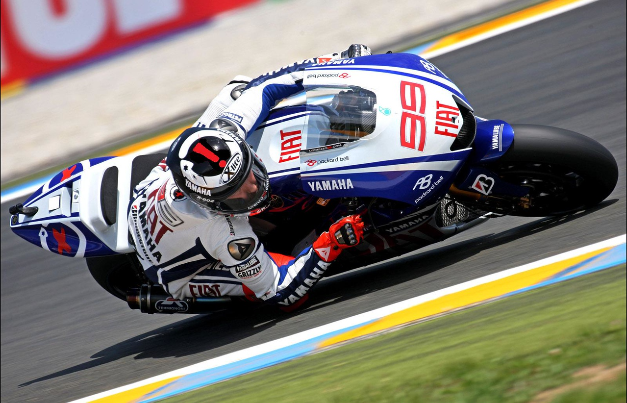 2009 MotoGP World Championship, Round 04, Le Mans, France, 17 May 2009, Jorge Lorenzo