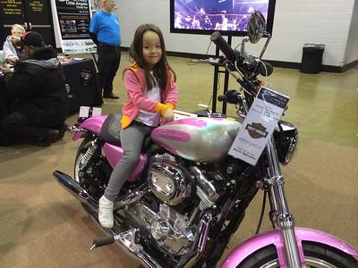 Hmmm? Pink Bike!