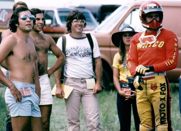 Todd Kohlmeister, Gary Murphy, Jim Gianatis (from Cyclenews), Me.