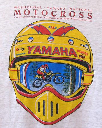 1981 Washougal 500cc National Motocross