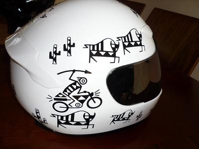 Motoglyphs Helmet