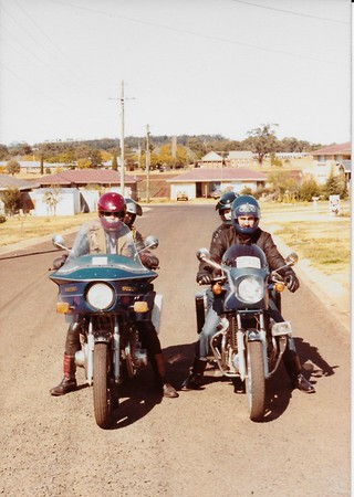 Motorcycle 80s