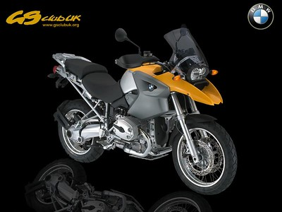 Colin's R1200GS Motorcycle Art