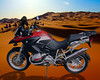 My (AndyW) 2005 BMW R1200GS magically appears in Morocco!