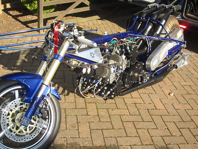 Yamaha TZ1500 V8 2 TZ750 s Dragster racing motorcycle classic SUPER Bike