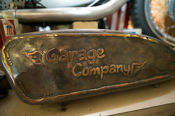 The Garage Company in Los Angeles is a must-stop for any motorcycle enthusiast.