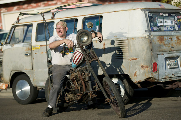 "Vintage bike savant George Hood on what he calls ""Henry Fonda's chopper."""