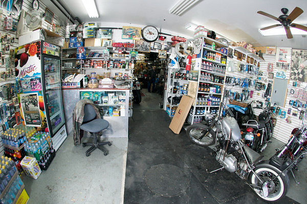 John's Cycle Center in Queens, NY.