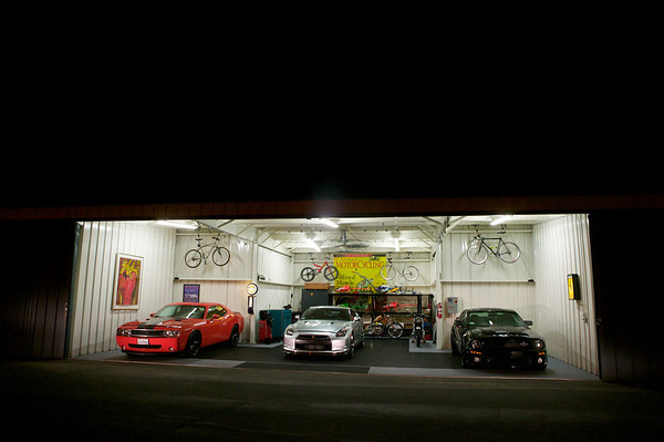 Same guy, different stall. Those cars are driven as much as the bikes, by the way.