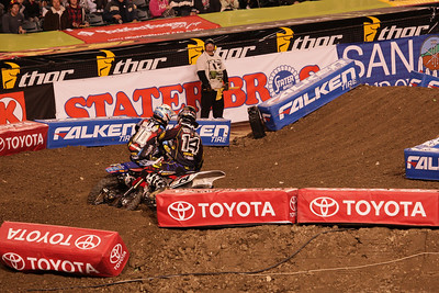 Anaheim Supercross Jan 8, 2011