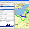 On-Route: ROUTE PLANNING (2) - Route Description, view your route (and alternative route if this option has been selected). You can amend/customise the routes as required.