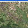 On-Route: ROUTE PLANNING - click the Google Earth icon in On-Route to load your route direct to the Google earth application......and zoom in to follow/check-out your route.