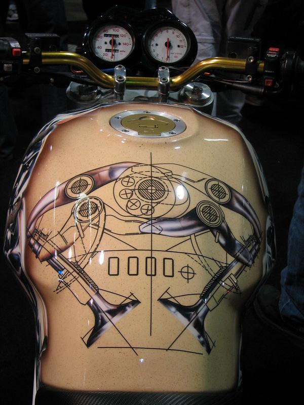 Sharp Ducati paint job