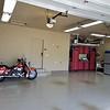 Harley in Garage