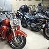 2007 Harley Road King and 2015 Suzuki XT650