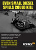 "2/2: MAG: Avoid the Deadly Diesel - KillSpills Diesel Leaflet: <a target=""_blank"" href=""http://www.mag-uk.org/"">http://www.mag-uk.org</a>"