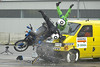 "Another DEKRA motorcycle crash test - two more motorcycle crash test dummies have a rough ride!<br /> Photo: DEKRA/Winterthur <a href=""http://www.dekra.com"">http://www.dekra.com</a>"