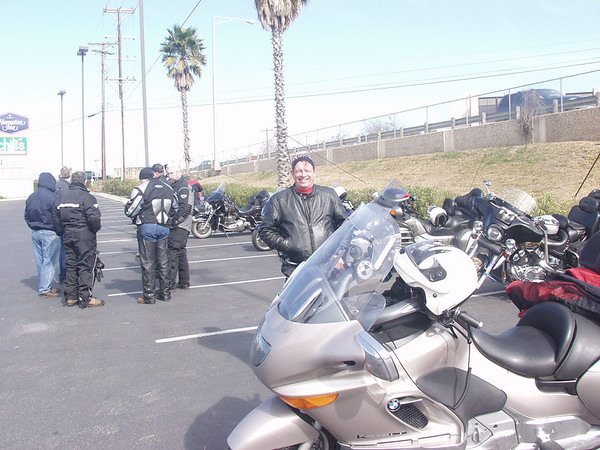 Motorcycle Touring Lunch bunch