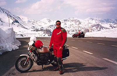 1995 Alps Motorcycle Tour