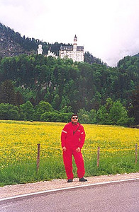 May 30,1995 - Füssen, Germany.<br /> <br /> Neuschwanstein castle in Bavaria. Walt Disney modeled his castle after this one.