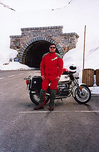 May 24, 1995 - Grossglockner Hochalpenstrasse, Austria.<br /> <br /> This is a view of the Hochtor tunnel (2504 m asl and 311 m long).