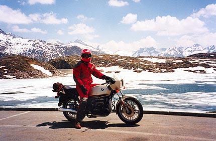 June 10, 1996 - Räterichsbodensee, Grimselpass, Switzerland.<br /> <br /> Immediately North of the Grimselpass.